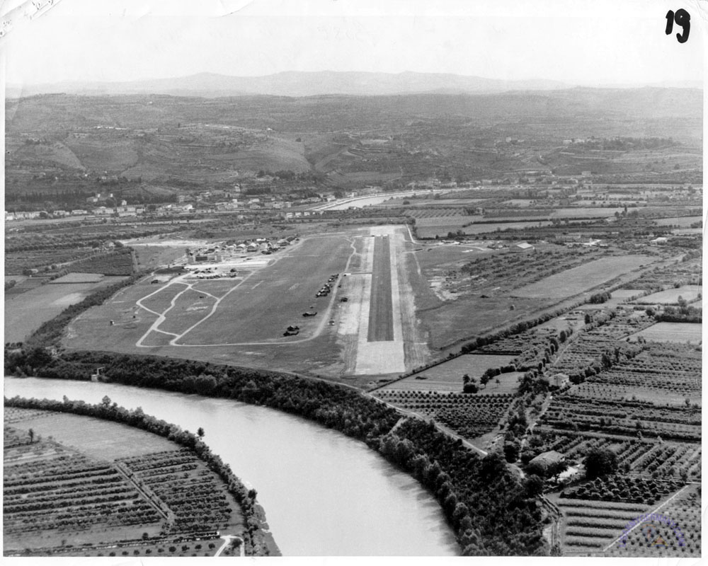 La storia dell'aeroporto di Boscomantico